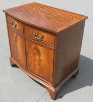 Antique Style Small Mahogany Cupboard